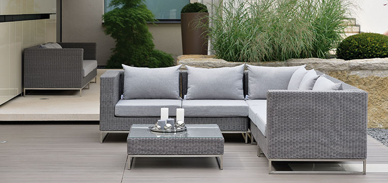 fontana lounge grau tropictrend exklusive gartenm bel steiermark. Black Bedroom Furniture Sets. Home Design Ideas