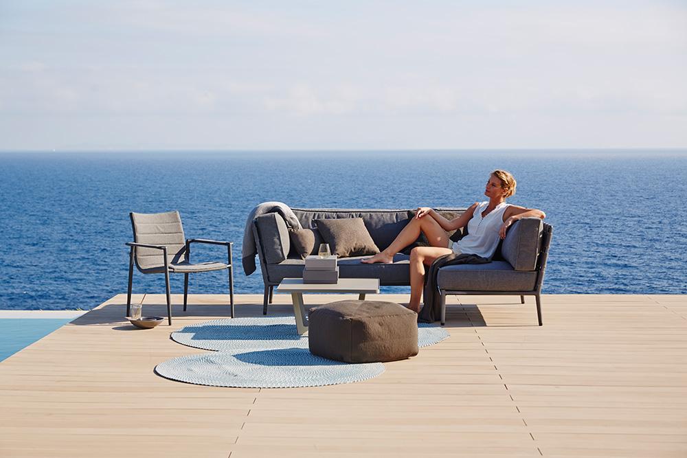 Sitzer Sofa links  Tropictrend  Exklusive Gartenmöbel, Steiermark