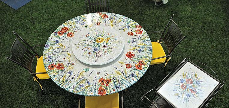 Tisch-rund